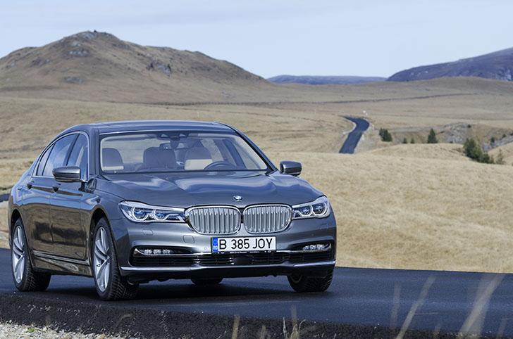 Test BMW Seria 7