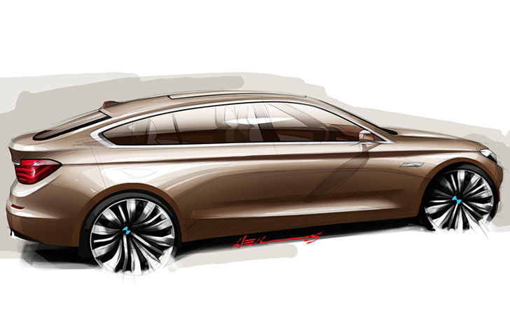 Viitorul BMW Seria 5 GT
