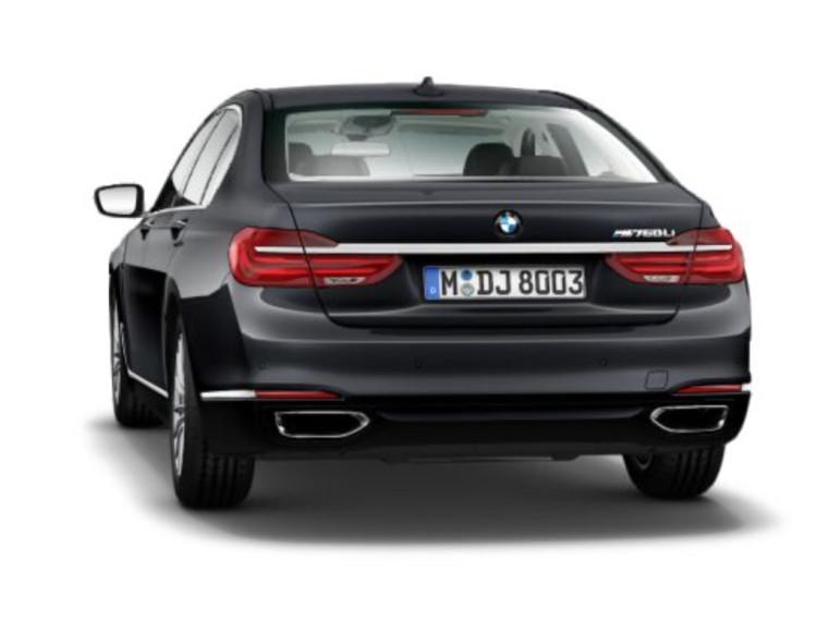 BMW M760Li - configurator