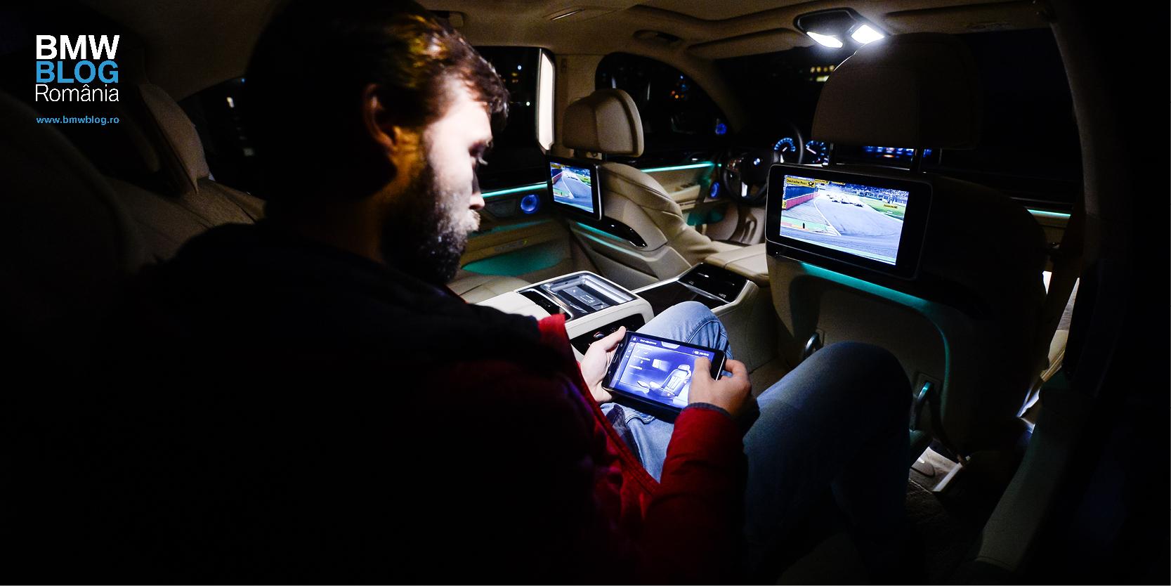 Luxul digital de la bordul noului BMW Seria 7 (FT)