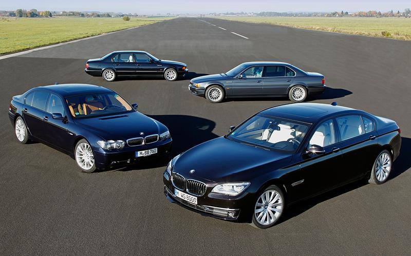 BMW Seria 7 - Istoria V12