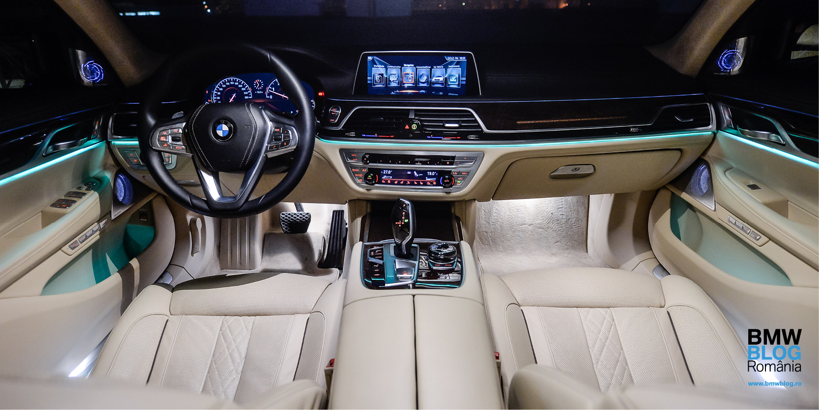 Luxul digital de la bordul noului BMW Seria 7 (FT)