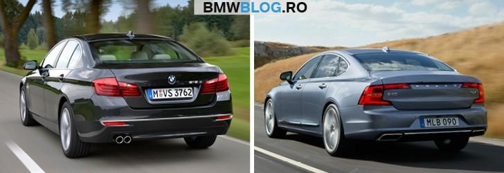 Noul Volvo S90 vs BMW Seria 5 (2)