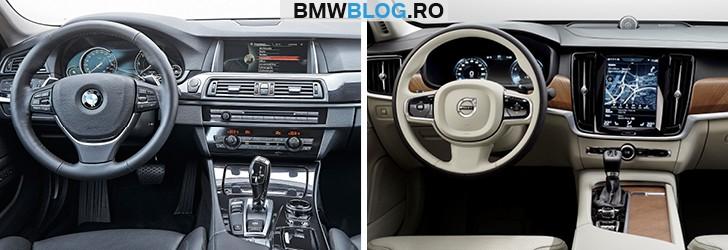 Noul Volvo S90 vs BMW Seria 5 (3)