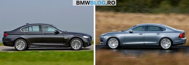 Noul Volvo S90 vs BMW Seria 5 (4)