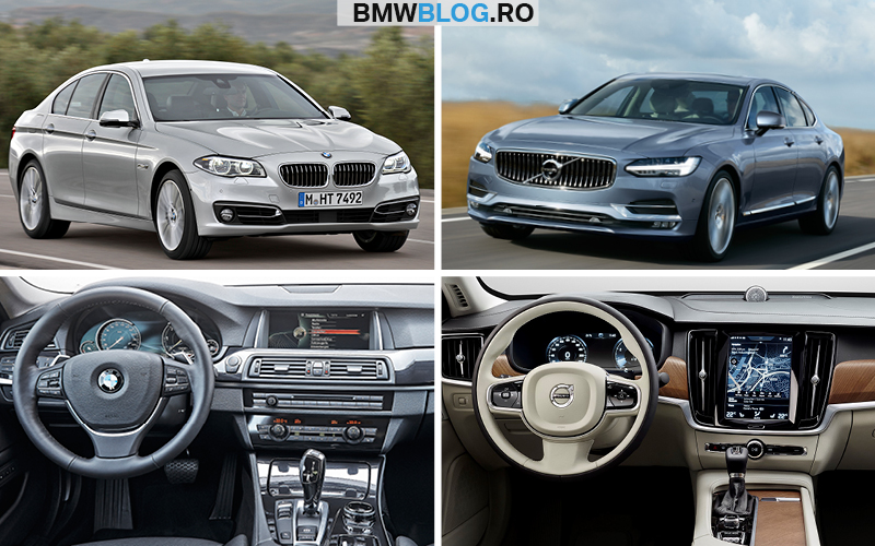 Noul Volvo S90 vs BMW Seria 5_FT