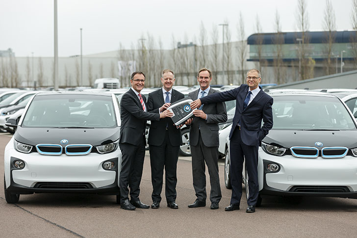 BMW i3 in Leipzig