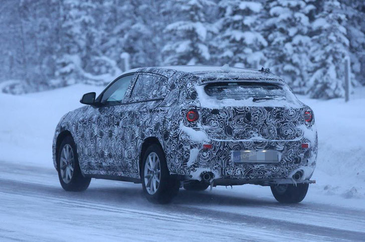 Viitorul BMW X2 - poze spion