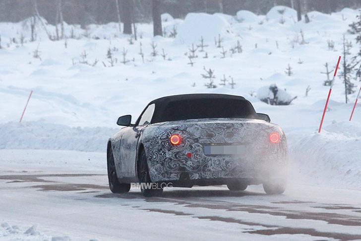 Viitorul BMW Z5 - poze spion