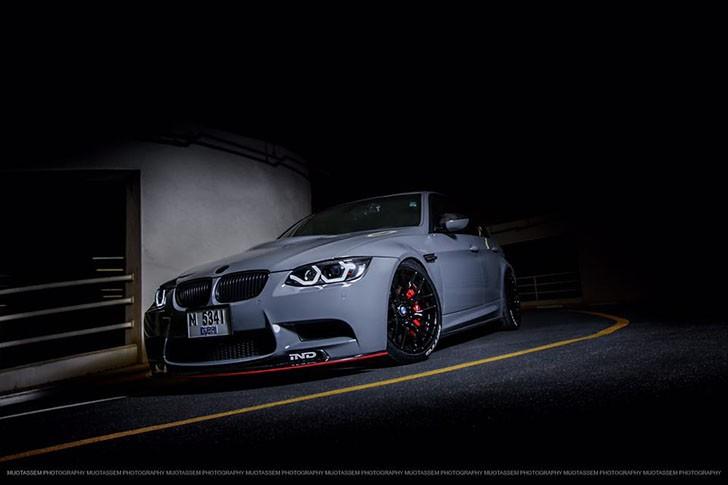 BMW M3 E90 nardo grey tuning (12)