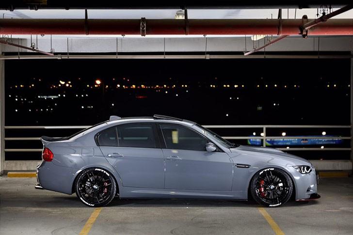 BMW M3 E90 nardo grey tuning (8)