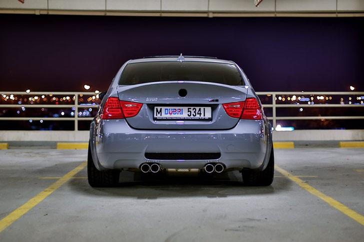 BMW M3 E90 nardo grey tuning (9)