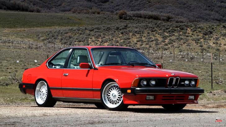 BMW M6 E24 2