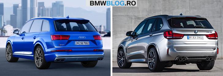 BMW X5 M vs Audi SQ7 TDI