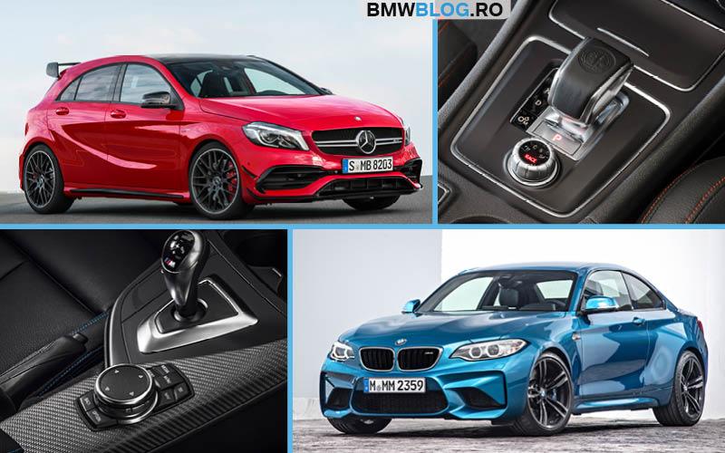 BMW M2 vs A 45 AMG