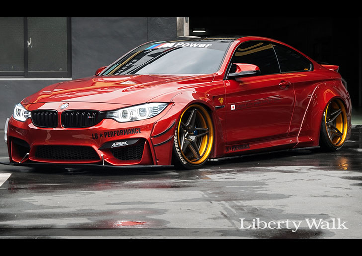Bmw M4 Construit De Jp Performance Graffiti Pe Patru