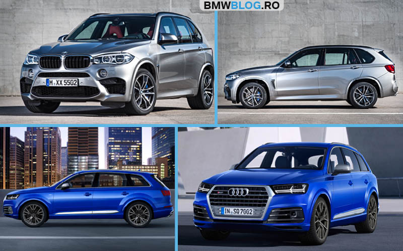 BMW X5 M vs Audi SQ7 TDI