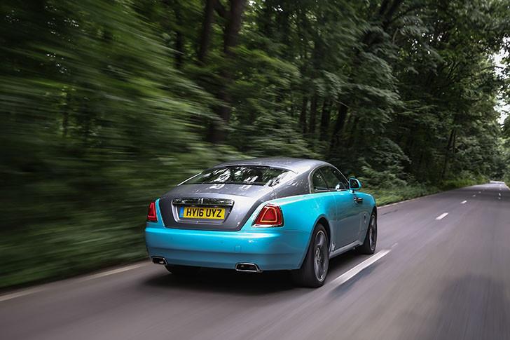 Rolls Royce Wraith (8)