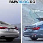 Audi A8 vs BMW Seria 7