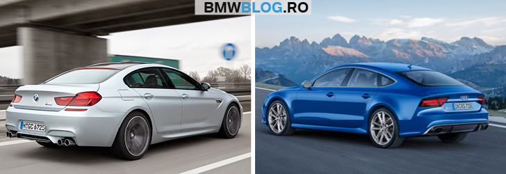 BMW M6 Gran Coupe vs Audi RS 7 Sportback