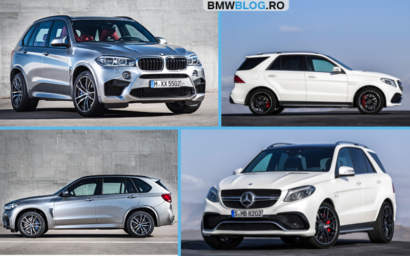 bmw x5 m vs mercedes amg gle 63 s cavalerii integrali. Black Bedroom Furniture Sets. Home Design Ideas