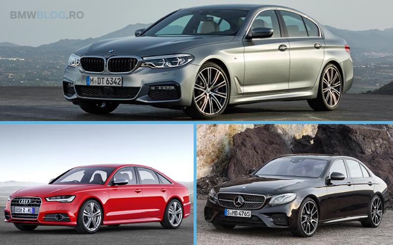 Noul BMW M550i vs Audi S6 vs Mercedes-AMG E 43