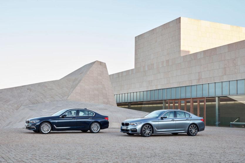 BMW 540i vs 530d
