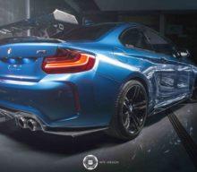 BMW M2 by MTC Design & Automotive Ltd.: Look de competiții cu elemente de carbon
