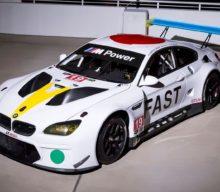 Premiera mondială a BMW Art Car by John Baldessari la Art Basel Miami Beach. Modelul Art Car va participa la Cursa de 24 de ore de la Daytona