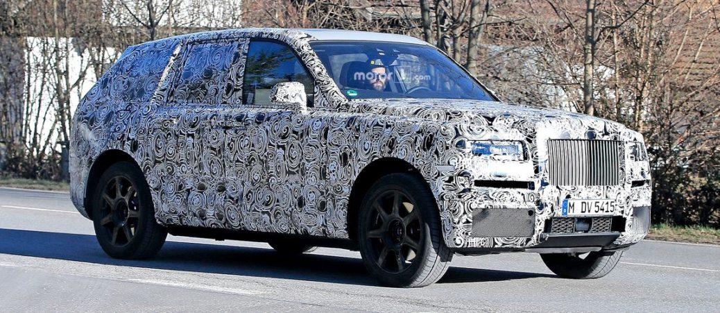 Rolls Royce Cullinan Este Testat Pe șosele Publice Cu