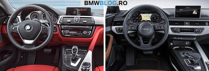 BMW Seria 4 Coupe 430i xDrive vs Audi A5 Coupe 2.0 TFSI quattro