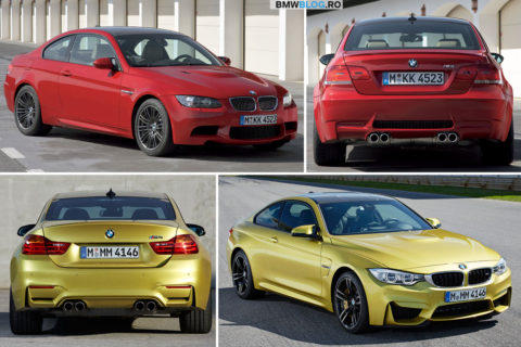 BMW M3 E92 vs M4 Coupe