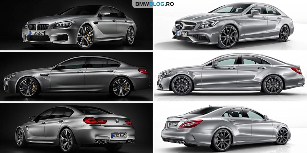 Bmw M6 Gran Coupe Vs Mercedes Amg Cls 63 Coupe V8 Uri Nobile