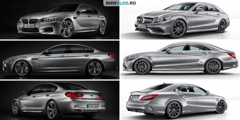 BMW M6 Gran Coupe vs Mercedes-AMG CLS 63 Coupe