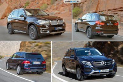 BMW X5 vs Mercedes-Benz GLE