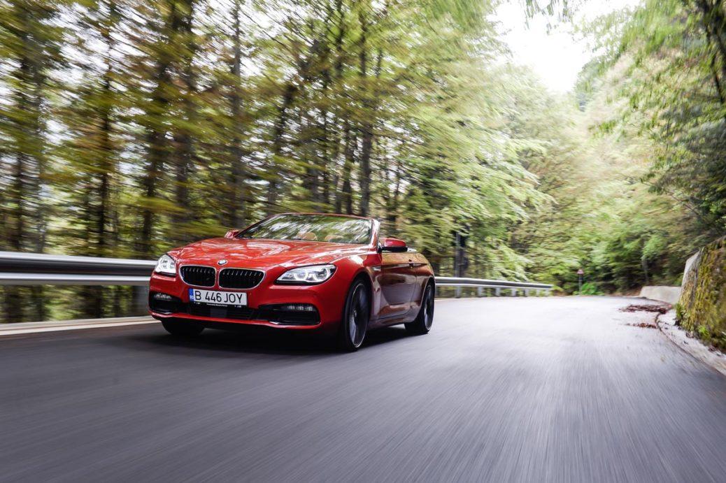 Test BMW Seria 6 Cabrio