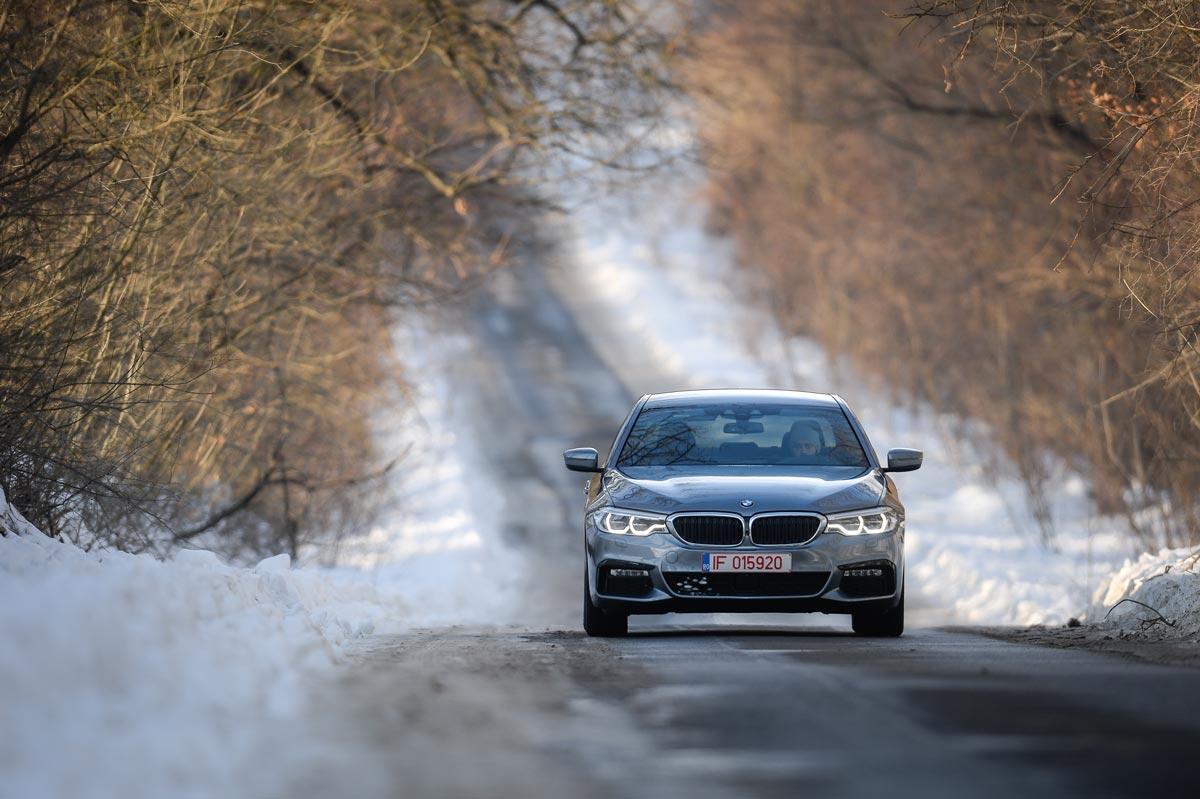 test cu noul BMW Seria 5
