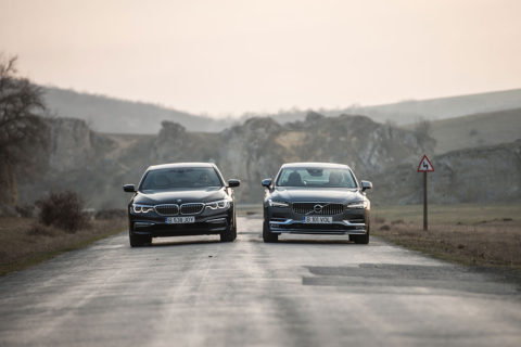 BMW Seria 5 vs Volvo S90