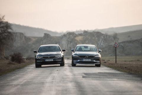 BMW Seria 5 vs Volvo S90