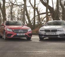 BMW 520d vs Mercedes-Benz E220d