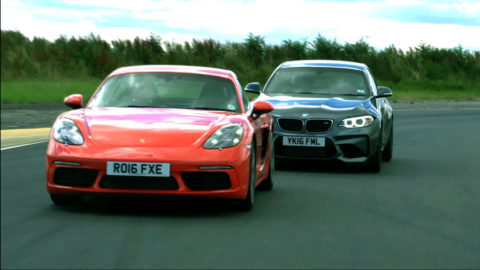 BMW M2 versus Porsche Cayman S – Tom și Jerry pe circuit