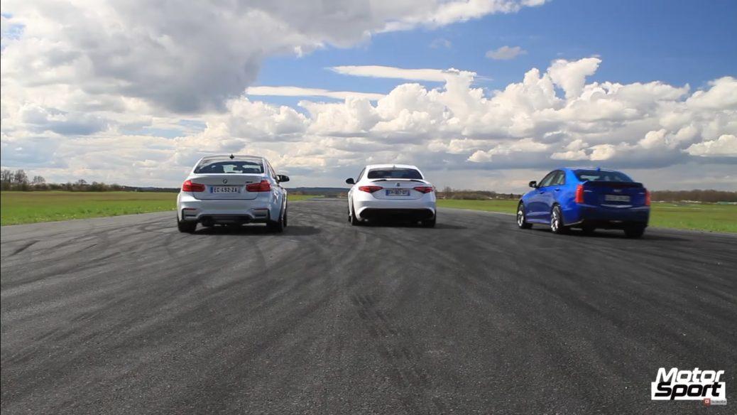 Bmw M3 Vs Alfa Romeo Giulia Qv Vs Cadillac Ats V Liniuța