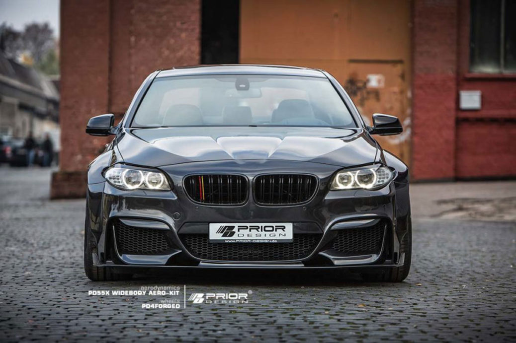 Bmw Seria 5 F10 Primește Un Wide Body Kit De La Prior