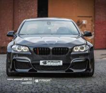 BMW Seria 5 F10 primește un wide body Kit de la Prior Design