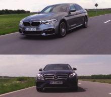 Comparativ BMW 540i xDrive vs Mercedes-Benz E400 4MATIC – Domnul și Vagabondul