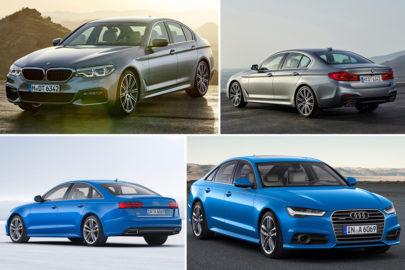 BMW Seria 5 vs Audi A6