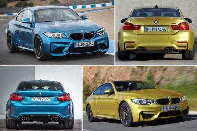 BMW M2 vs BMW M4