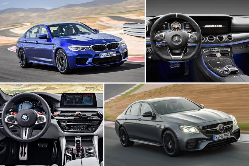 Noul BMW M5 vs Mercedes-AMG E 63 S 4MATIC