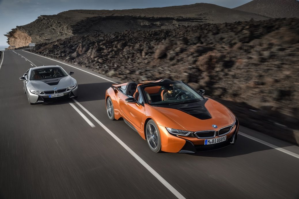 Bmw Lansează Noile I8 Roadster Si I8 Coupe In Los Angeles
