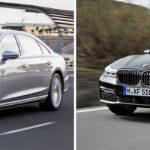 Noul Audi A8 vs BMW Seria 7